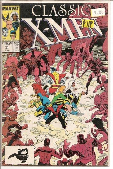Classic X-Men # 14, 7.0 FN/VF