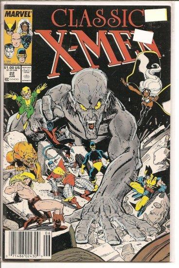 Classic X-Men # 22, 8.0 VF