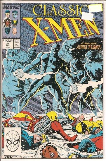 Classic X-Men # 27, 8.0 VF