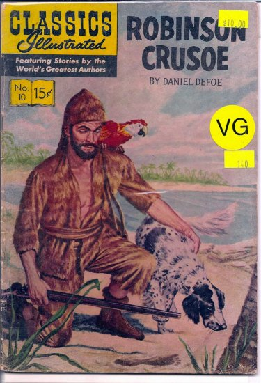 Classics Illustrated # 10, 4.0 VG