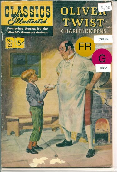 Classics Illustrated # 23, 1.5 FR/GD