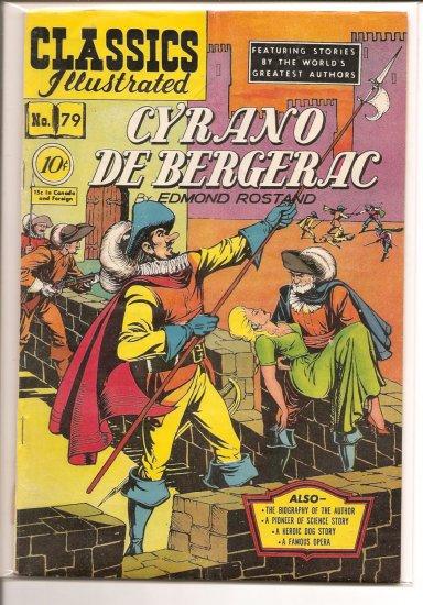 Classics Illustrated # 79, 4.5 VG +