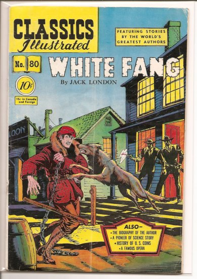 Classics Illustrated # 80, 4.5 VG +