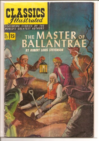 Classics Illustrated # 82, 4.0 VG