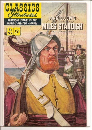 Classics Illustrated # 92, 4.5 VG +