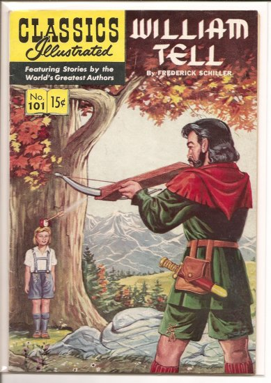 Classics Illustrated # 101, 4.5 VG +