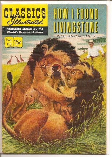 Classics Illustrated # 115, 4.5 VG +