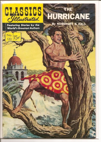 Classics Illustrated # 120, 4.5 VG +