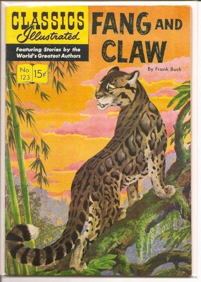 Classics Illustrated # 123, 4.5 VG +
