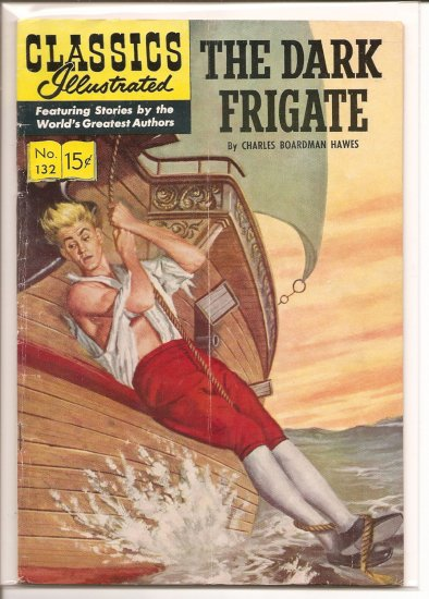 Classics Illustrated # 132, 4.5 VG +