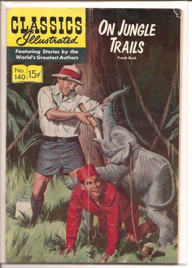 Classics Illustrated # 140, 4.0 VG
