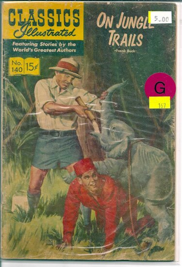 Classics Illustrated # 140, 2.0 GD