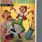 CLASSICS ILLUSTRATED JUNIOR PINOCCHIO # 513, 2.5 GD +