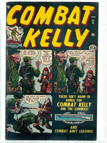 COMAT KELLY # 9, 5.0 VG/FN