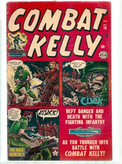 COMAT KELLY # 10, 3.5 VG -