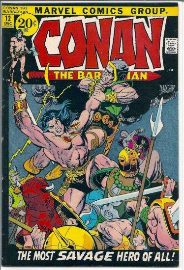 Conan # 12, 4.5 VG +
