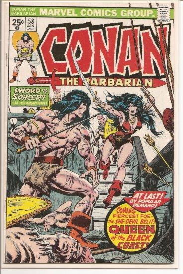 Conan # 58, 4.5 VG +