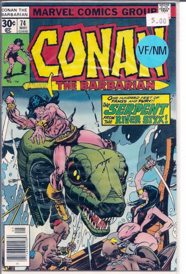 Conan # 74, 9.0 VF/NM