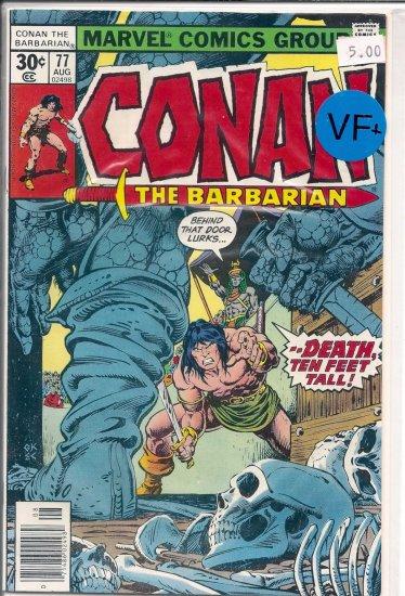 Conan # 77, 8.5 VF +