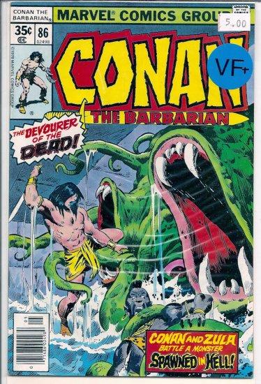 Conan # 86, 8.5 VF +