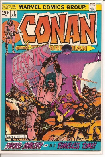 Conan The Barbarian # 19, 9.2 NM -