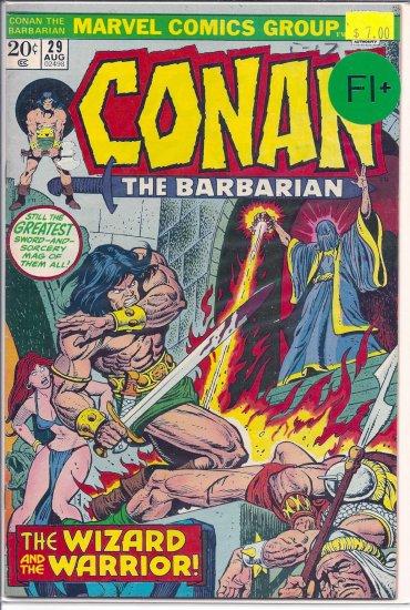 Conan The Barbarian # 29, 6.5 FN +