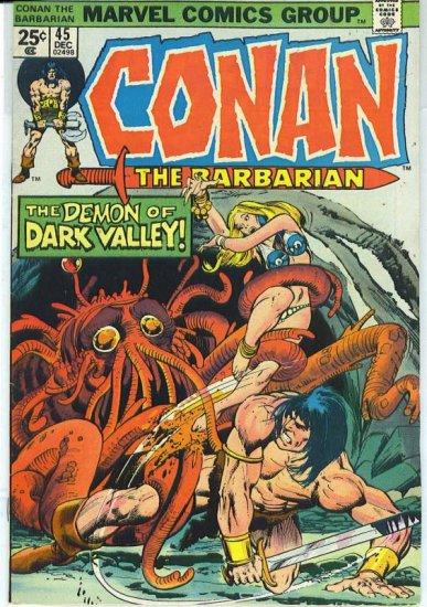 Conan The Barbarian # 45, 6.0 FN