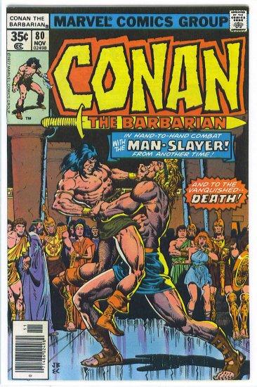 Conan The Barbarian # 80, 7.5 VF -