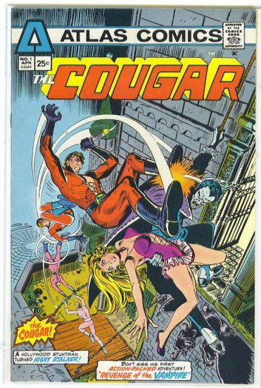 Cougar # 1, 8.0 VF