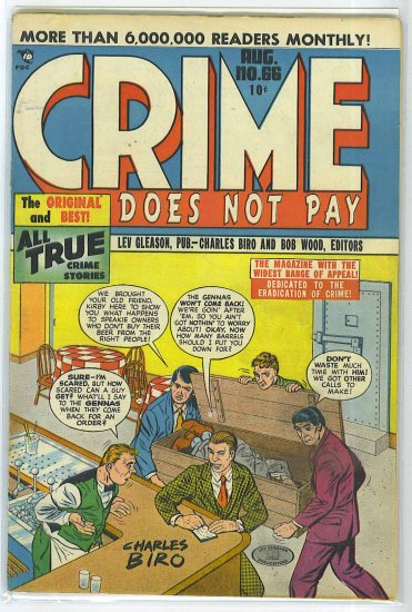 Crime Does Not Pay # 66, 4.0 VG