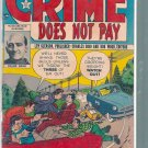 CRIME DOES NOT PAY # 125, 3.0 GD/VG
