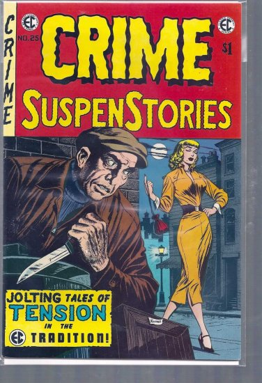 CRIME SUSPENSTORIES # 25, 8.5 VF +