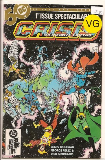 Crisis on Infinite Earths # 1, 4.0 VG