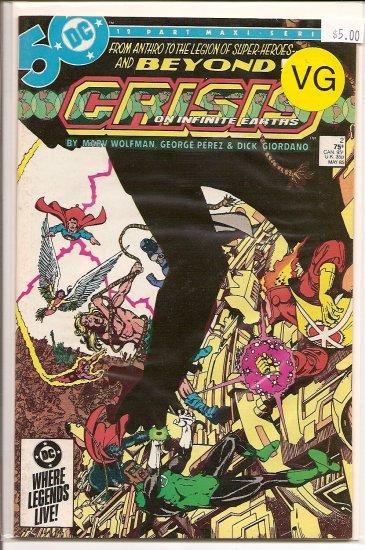 Crisis on Infinite Earths # 2, 4.0 VG