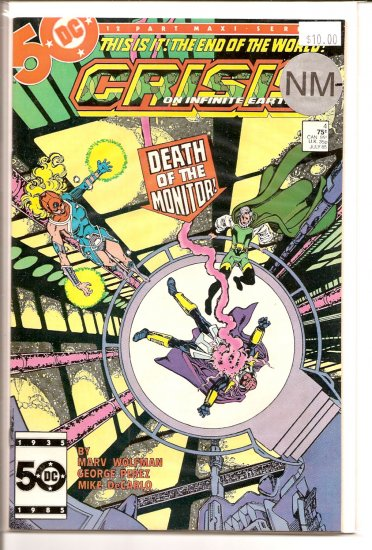 Crisis on Infinite Earths # 4, 9.2 NM -
