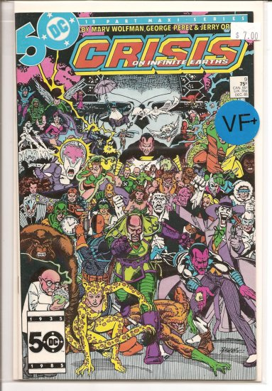 Crisis on Infinite Earths # 9, 8.5 VF +
