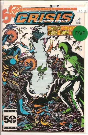 Crisis on Infinite Earths # 10, 7.0 FN/VF