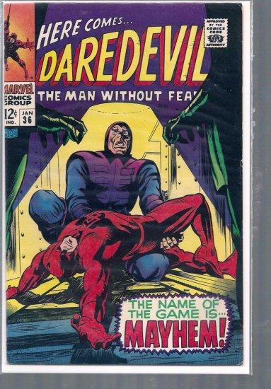 DAREDEVIL  # 36, 6.5 FN +