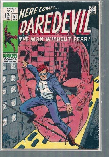 DAREDEVIL  # 51, 4.5 VG +