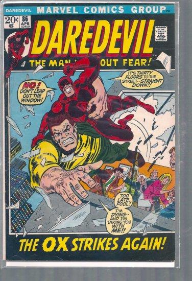 DAREDEVIL  # 86, 4.0 VG