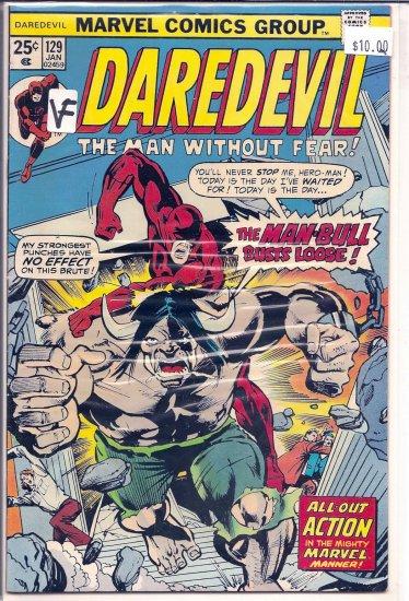 Daredevil # 129, 8.0 VF