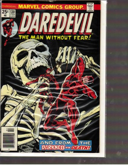 DAREDEVIL # 130, 3.5 VG -