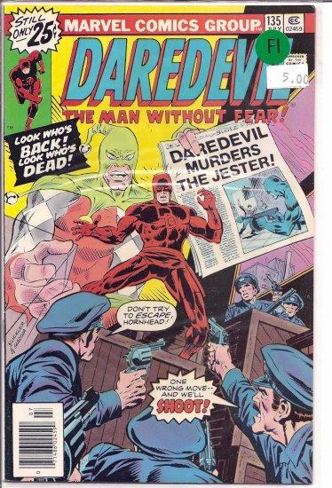 Daredevil # 135, 6.0 FN