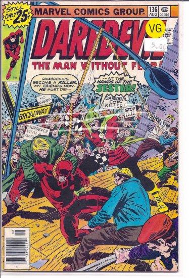 Daredevil # 136, 4.0 VG