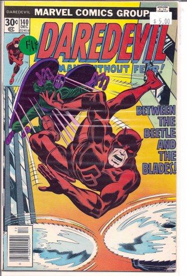 Daredevil # 140, 7.0 FN/VF