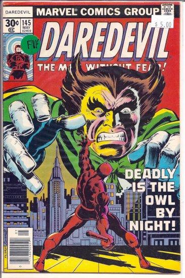 Daredevil # 145, 7.0 FN/VF