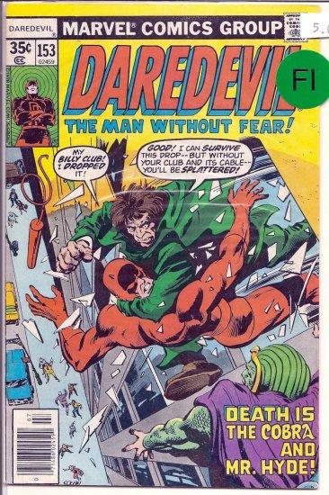 Daredevil # 153, 6.0 FN