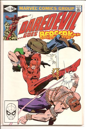 Daredevil # 173, 8.0 VF