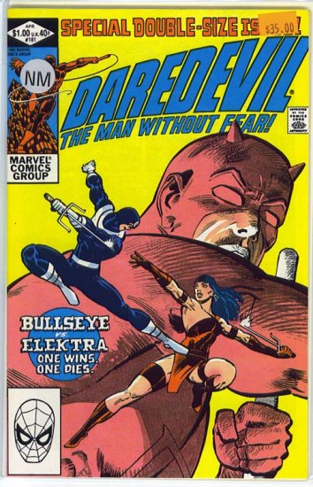 Daredevil # 181, 9.4 NM