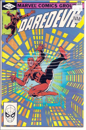 Daredevil # 186, 9.2 NM -